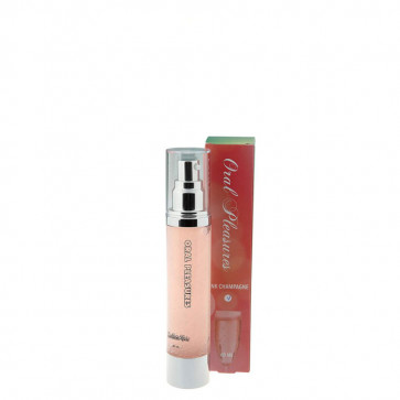 LN Oral Pleasures Pink Champagne, Lickable Water Based Lubricant, 60 ml (2,0 fl.oz.)