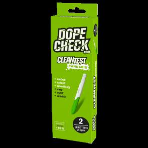 DOPE-CHECK Urin Clean-Test Cannabis, Cut-off 25 ng/ml, 2 pcs