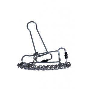 "HIDDEN DESIRE Nipple Clamps ""Piranha's"" with Chain, Stainless Steel"
